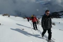 Zwack und Parbat beim letzten Aufstieg, der Gipfel ist fast erreicht!