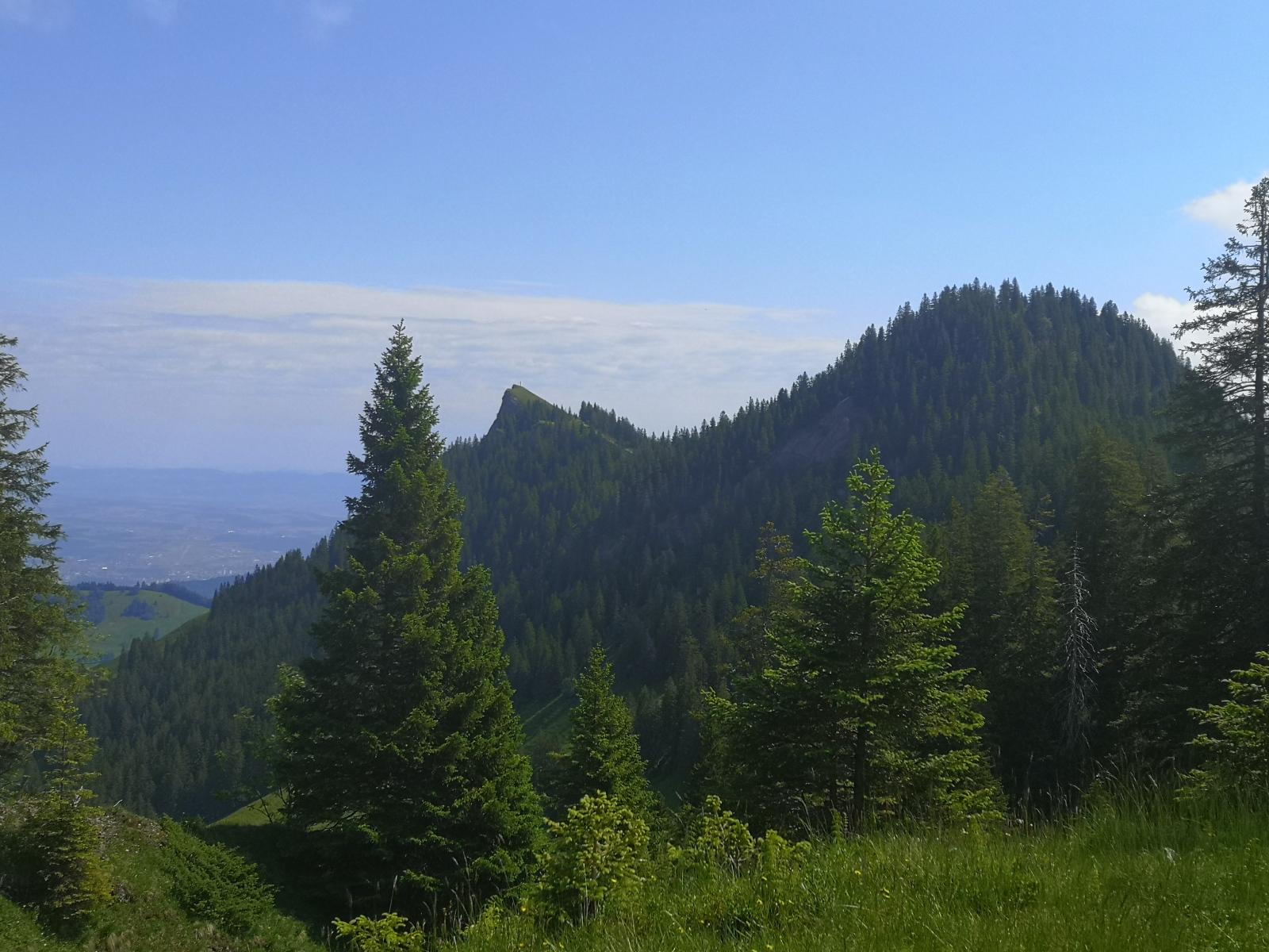 Gipfel Studberg und Rägeflüeli